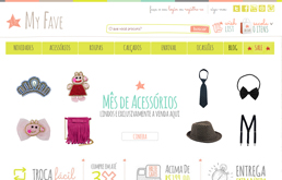 My Fave - Plataforma de E-commerce